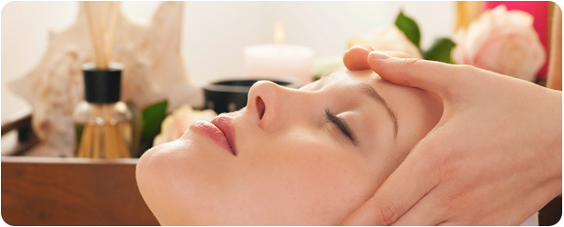 special skin care treatment